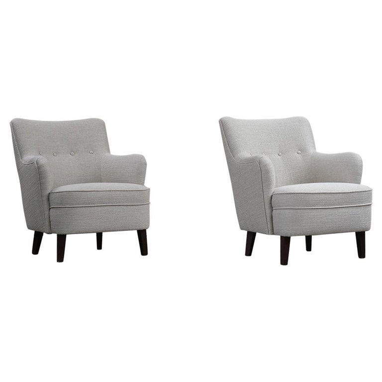 Danish Cabinetmaker Lounge Chairs For Sale