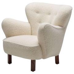 """Danish Cabinetmaker """"Polar"""" Chair, Denmark, 1940s"""