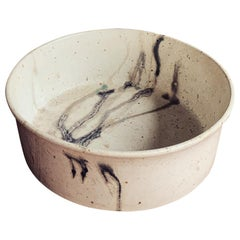 Danish Ceramic Bowl, Scandinavian Modern, 1980s
