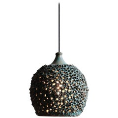 Danish Ceramic Pendant Lamp