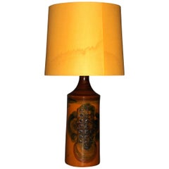 Danish Ceramic Table Lamp