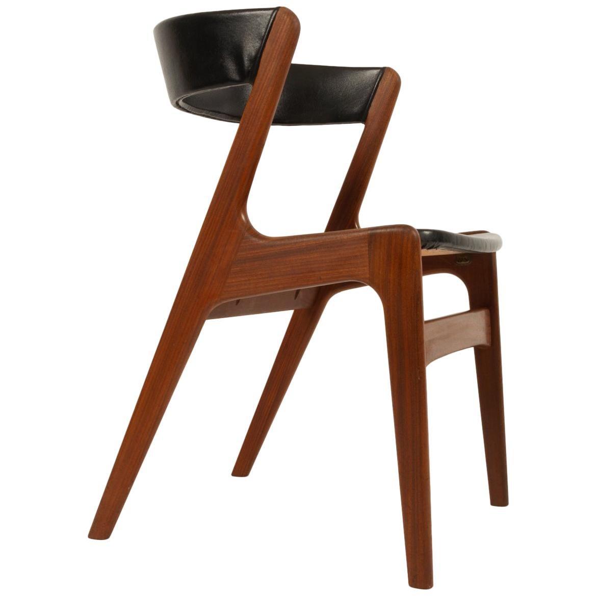 Danish Chair in Solid Teak, 1960s