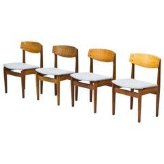 Danish Chairs by Jørgen Baekmark for FDB, 1950s