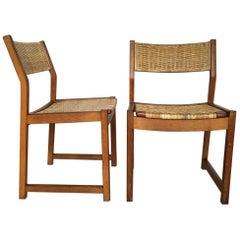 Danish Chairs by Peter Hvidt & Orla Mølgaard Nielsen for Søborg Møbelfabrik