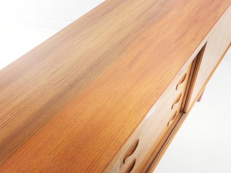 Scandinavian Danish Clausen & Son Midcentury Teak Sideboard, 1960s For Sale