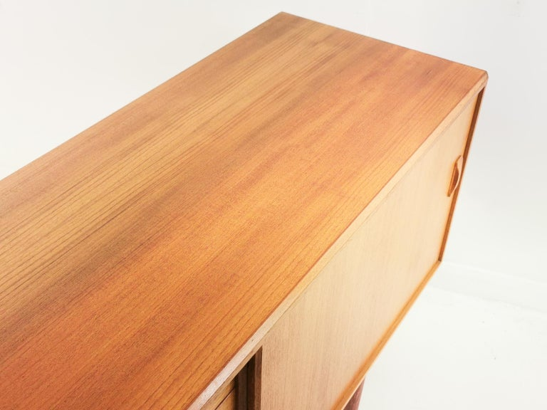 Danish Clausen & Son Midcentury Teak Sideboard, 1960s In Good Condition For Sale In STOKE ON TRENT, GB
