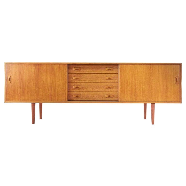 Danish Clausen & Son Midcentury Teak Sideboard, 1960s For Sale