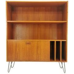 Danish Clausen & Son Teak Bookcase Cabinet 1960s-1970s Midcentury