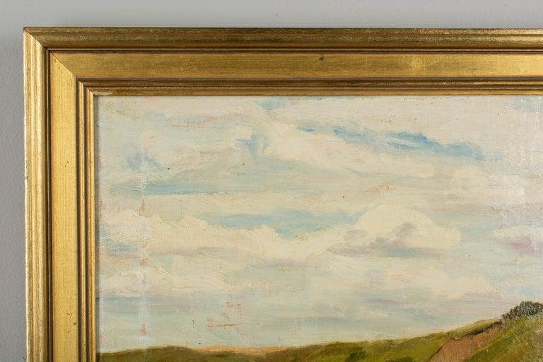 Danish Coastal Landscape Painting For Sale 1
