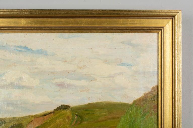 Danish Coastal Landscape Painting For Sale 2