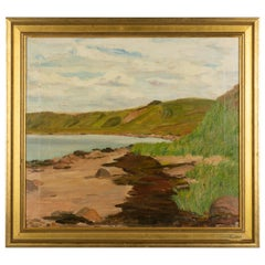 Danish Coastal Landscape Painting