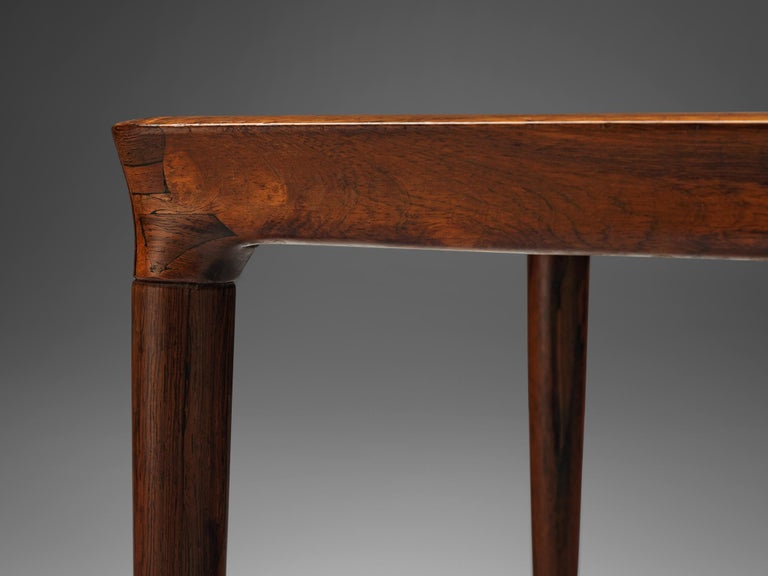 Rosewood Danish Coffee Table For Sale