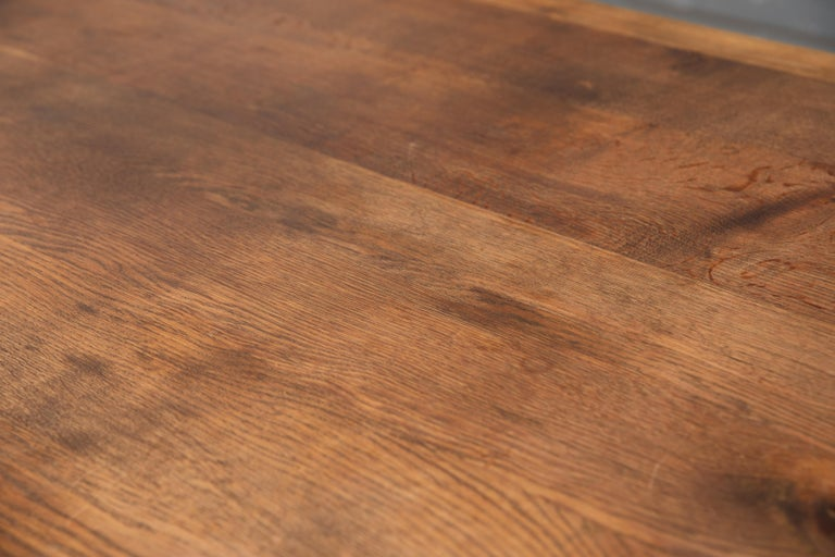 Danish Country Style Dining Table in Oak, ca. Early 1900s 6