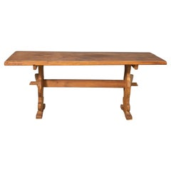 Danish Country Style Dining Table in Oak, ca. Early 1900s