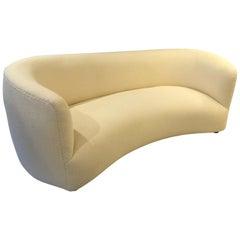 Danish Curved Sofa, 1940