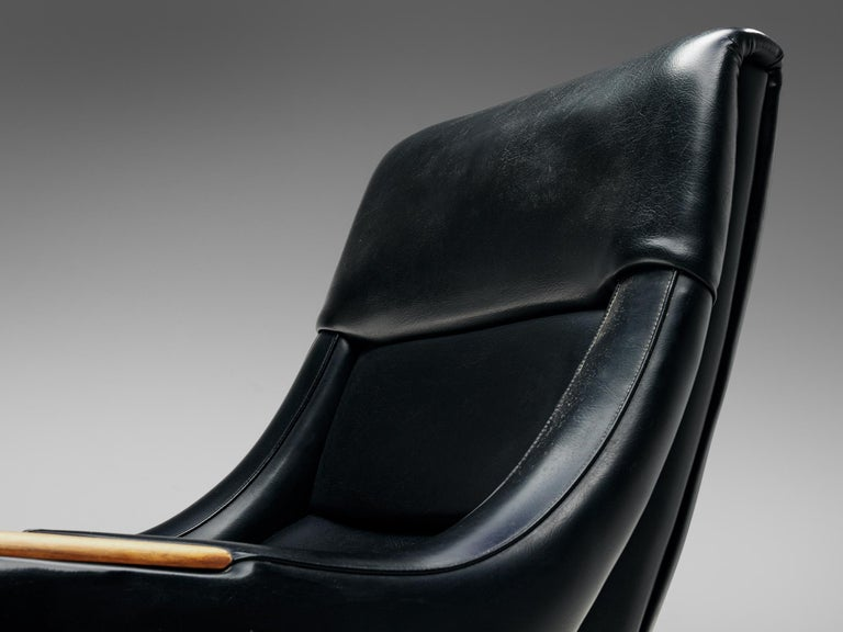 Mid-20th Century Danish Customizable Lounge Chair by H.W. Klein For Sale