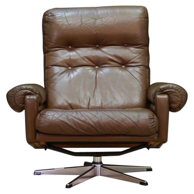 Danish Design Armchair Leather Vintage Retro For Sale at ...