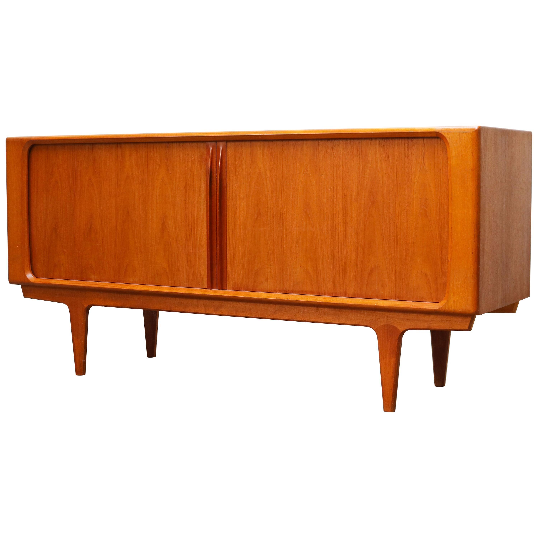 Danish Design Credenza/Sideboard in Teak by Bernhard Pedersen 1950s Brown Beig