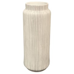 Danish Design Fine Stripe Vase, Contemporary