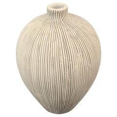 Danish Design Fine Stripe Vase, Thailand, Contemporary