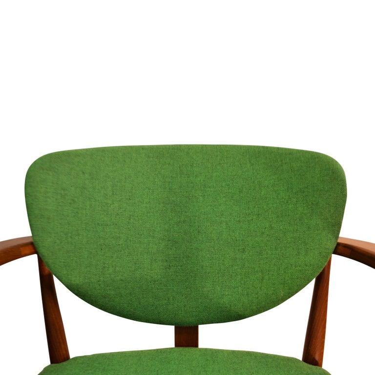Danish Design Finn Juhl Style Teak Lounge Chair For Sale 2