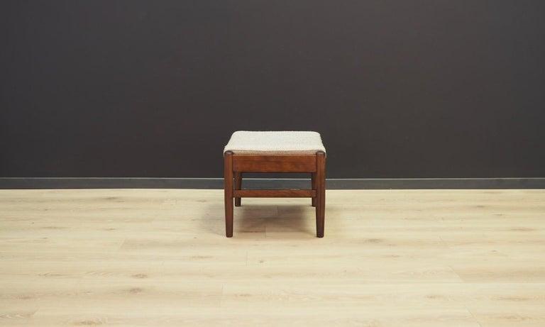 Scandinavian Danish Design Footrest Vintage Retro For Sale