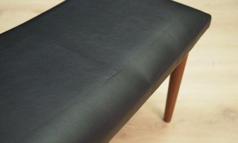 Danish Design Footrest Vintage Retro In Good Condition For Sale In Okunica, Zachodniopomorskie
