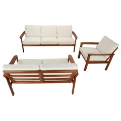 "Danish Design Living Room Set ""Borneo"" By Sven Ellekaer For Komfort, 1960s"