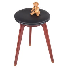 Danish Design Side Stool by Erik Buch Made by Domus Danica, 1960s