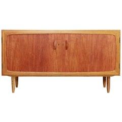 Danish Design Sideboard by Treman in Teak and Oak, 1960s