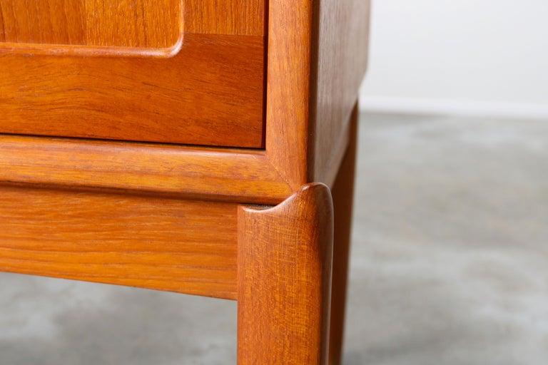 Danish Design Sideboard / Credenza by H.W. Klein for Bramin Teak Brown, 1950s For Sale 5
