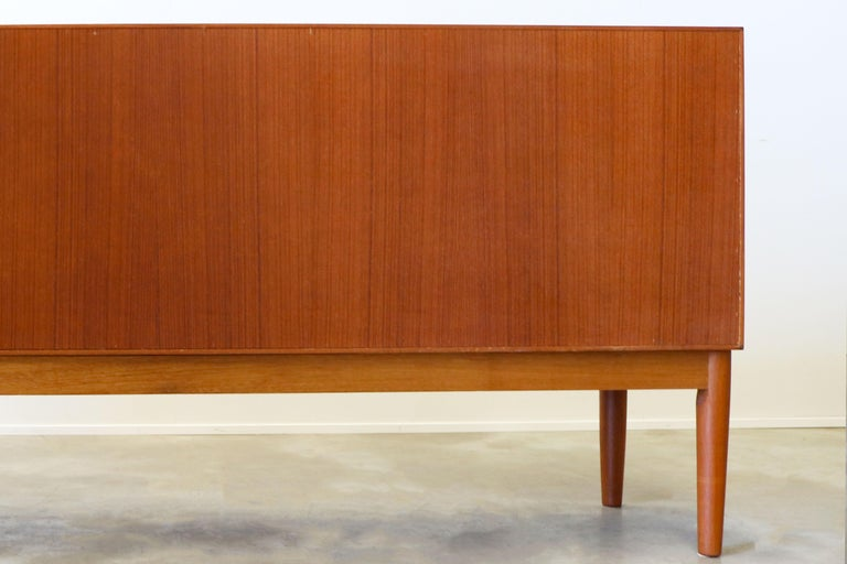 Danish Design Sideboard / Credenza by H.W. Klein for Bramin Teak Brown 1950s For Sale 7