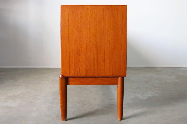 Danish Design Sideboard / Credenza by H.W. Klein for Bramin Teak Brown, 1950s For Sale 10