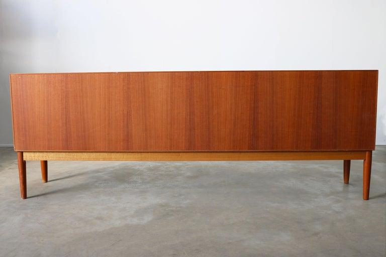 Danish Design Sideboard / Credenza by H.W. Klein for Bramin Teak Brown, 1950s For Sale 12