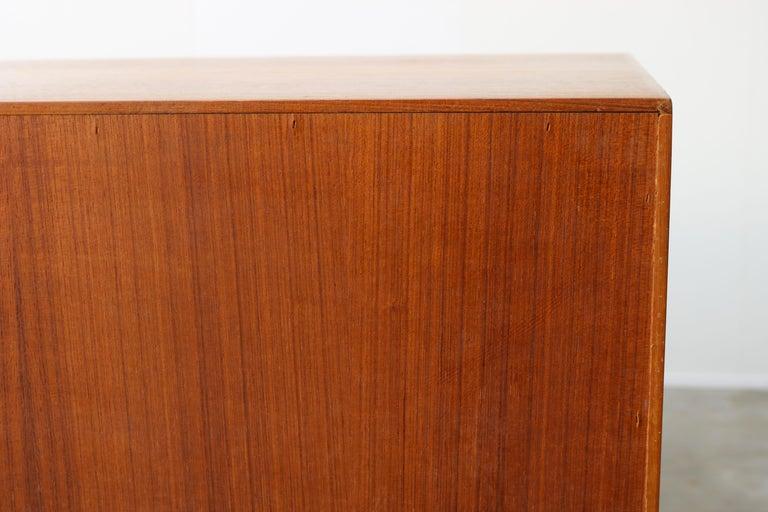 Danish Design Sideboard / Credenza by H.W. Klein for Bramin Teak Brown, 1950s For Sale 13