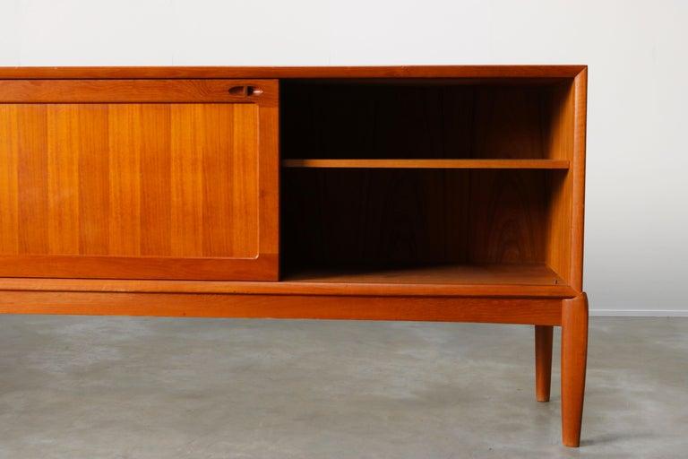 Danish Design Sideboard / Credenza by H.W. Klein for Bramin Teak Brown, 1950s For Sale 2
