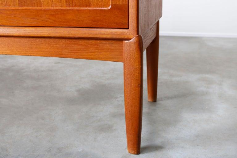 Danish Design Sideboard / Credenza by H.W. Klein for Bramin Teak Brown, 1950s For Sale 4