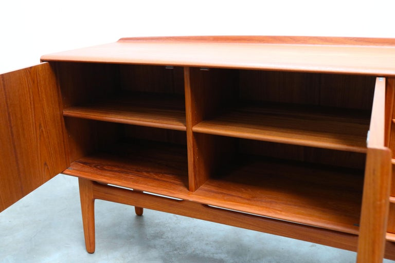 Danish Design Sideboard / Credenza by Svend Aage Madsen for K. Knudsen & Son For Sale 6