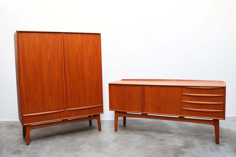 Danish Design Sideboard / Credenza by Svend Aage Madsen for K. Knudsen & Son For Sale 13