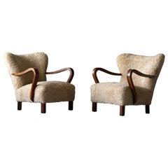 Hardwood Lounge Chairs