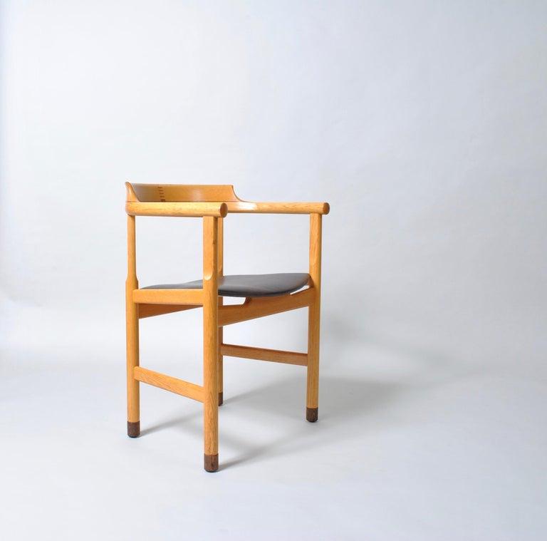 Danish Desk Chair, Hans J Wegner For Sale 4