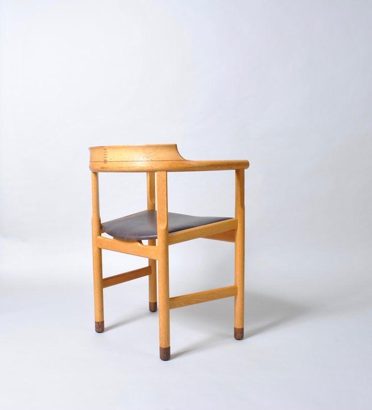 Danish Desk Chair, Hans J Wegner For Sale 5