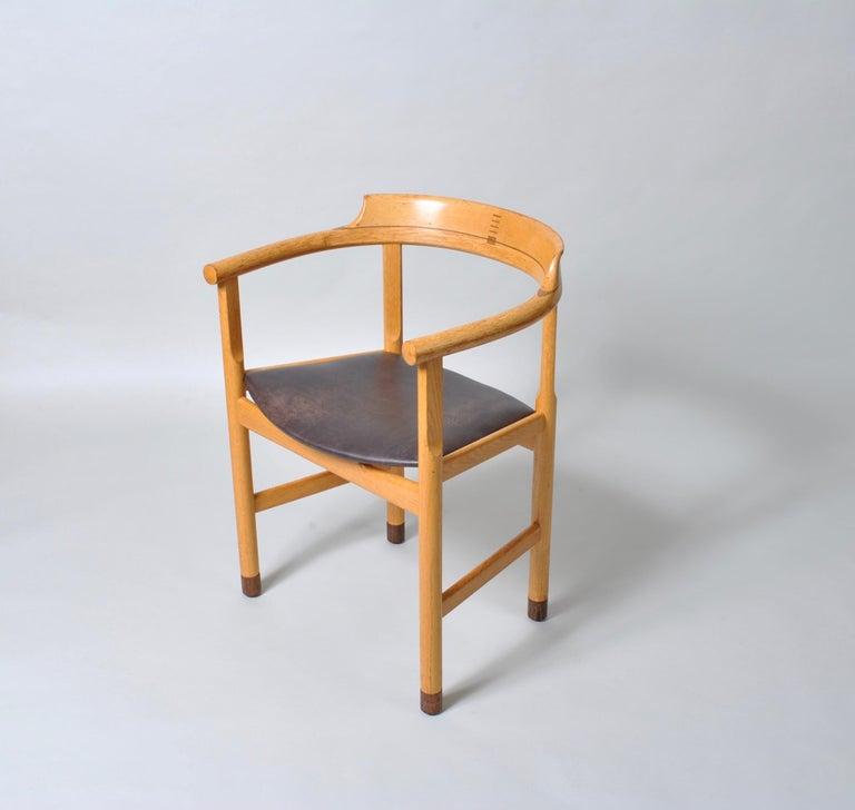 Danish Desk Chair, Hans J Wegner For Sale 6