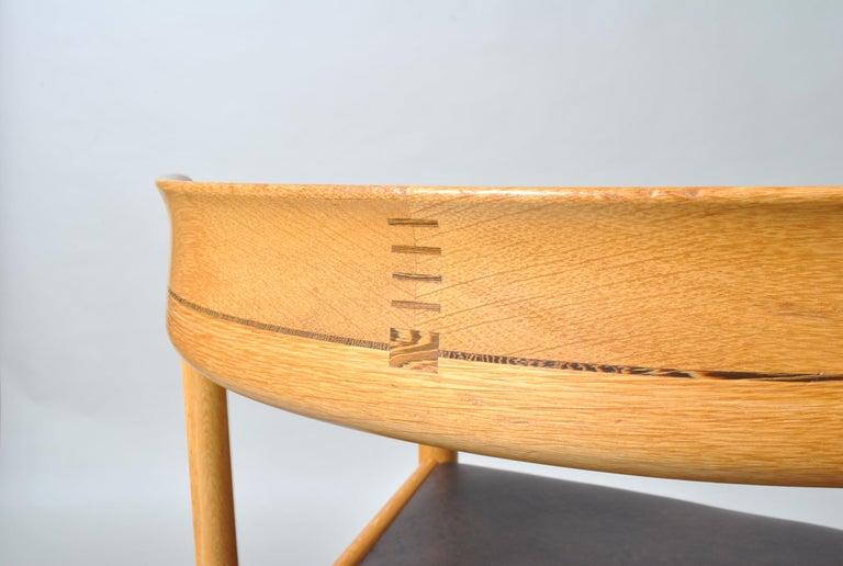 Danish Desk Chair, Hans J Wegner For Sale 7
