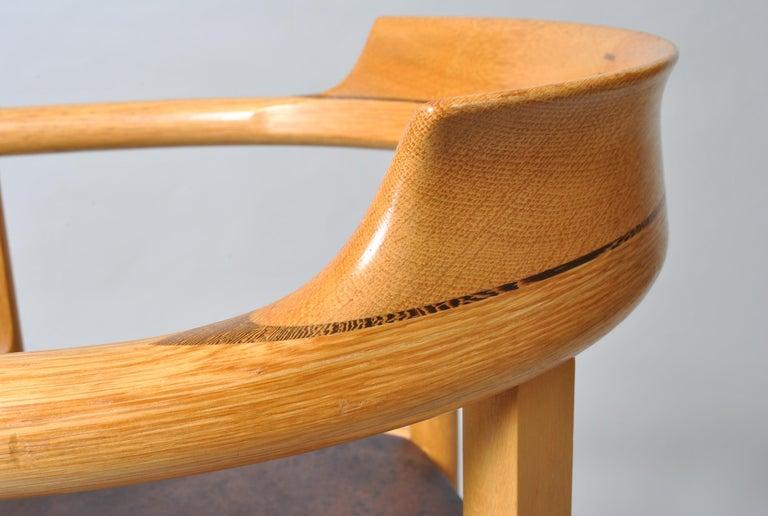 Danish Desk Chair, Hans J Wegner For Sale 8