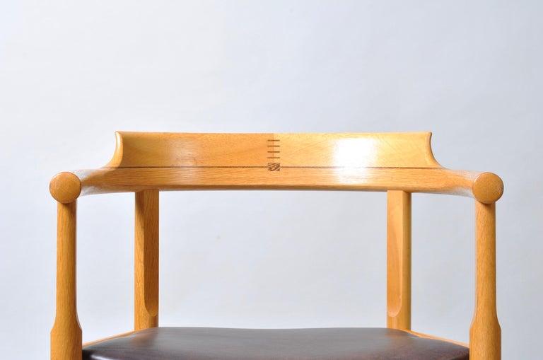 Danish Desk Chair, Hans J Wegner For Sale 10