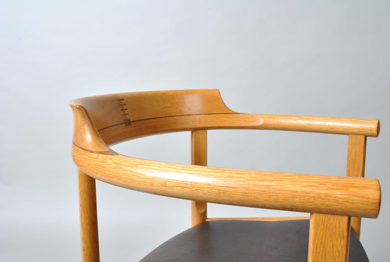 Danish Desk Chair, Hans J Wegner In Good Condition For Sale In London, GB