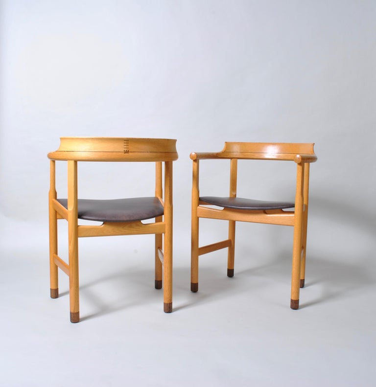 20th Century Danish Desk Chair, Hans J Wegner For Sale