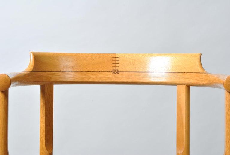 Oak Danish Desk Chair, Hans J Wegner For Sale