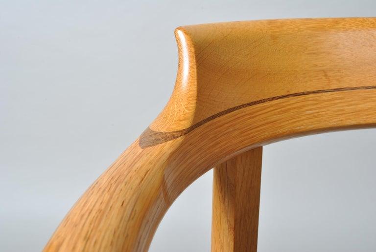 Danish Desk Chair, Hans J Wegner For Sale 1
